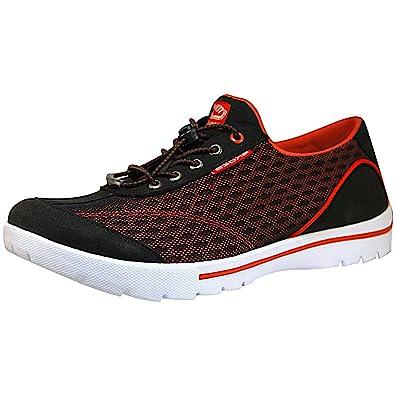 Skuze Unisex Shoes - Miami Black/Red, Women's 13.5 US/ Men's ...