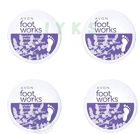 Avon foot works beautiful lavender softening balm