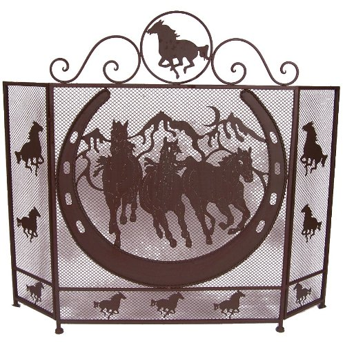 (LL Home Metal Horse Fire Screen)