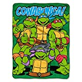 "Best Nickelodeon Blankets - Teenage Mutant Ninja Turtles,""Cowabunga Dudes"" Fleece Throw Blanket Review"