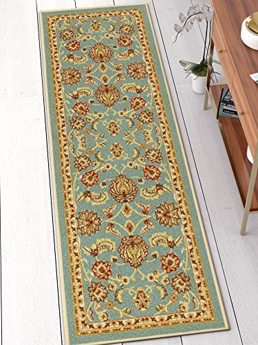 Well Woven 66362 Kings Court Tabriz Traditional Blue Oriental 2