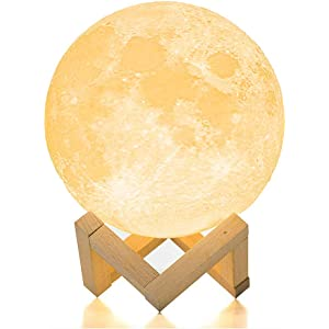 Sunny Dimmable 3d Magical Moon Lamp Usb Led Night Light Moonlight Gift Touch Sensor Night Lights
