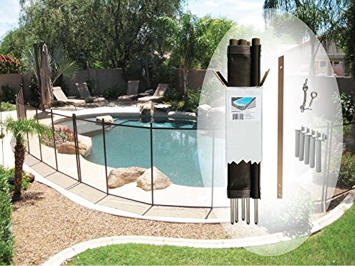 Pool Fence Diy By Life Saver Fencing Section Kit 4 X 12