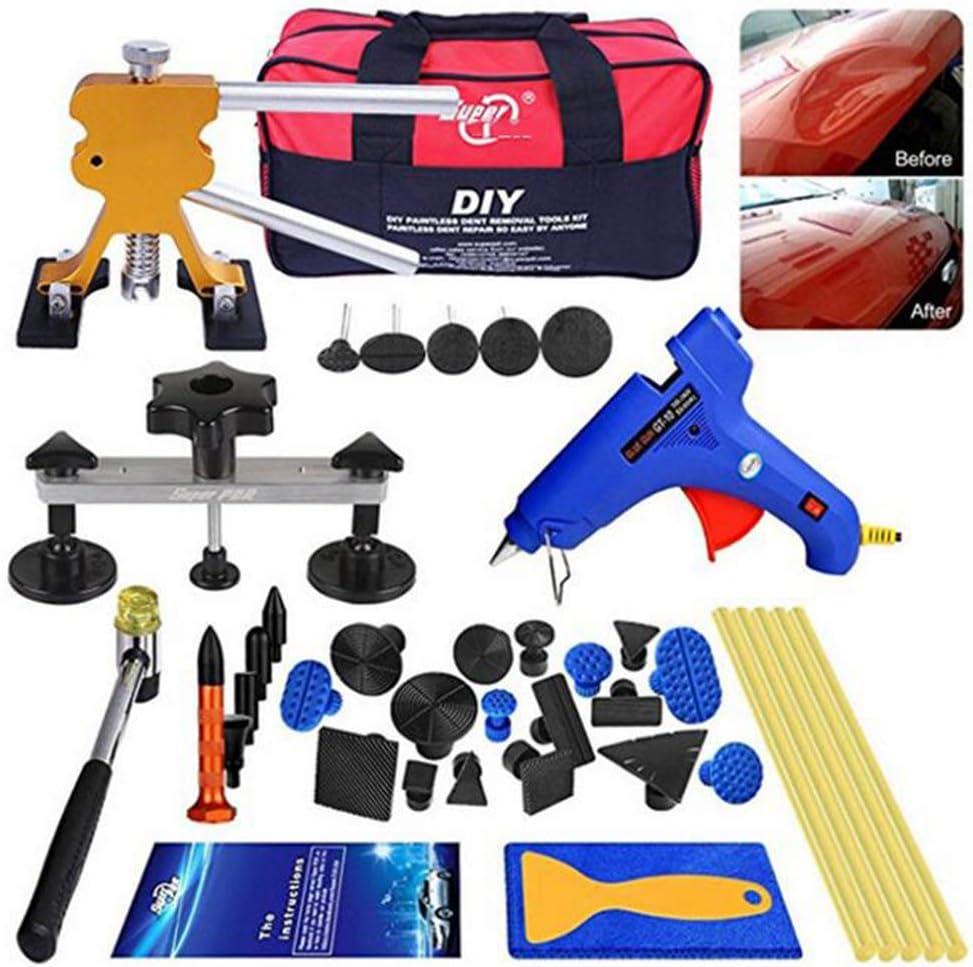 Amazon Com Dent Repair Tool Kit Automobile Sheet Metal Sag Repair Puller Car Ice Shovel Repair Sports Outdoors