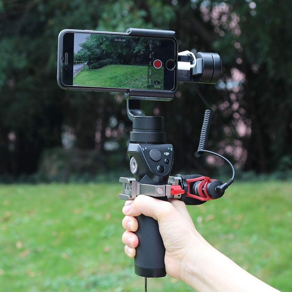 Also Comes with Mini Tripod Stand AFVO Accessories Mount Adapter for DJI Osmo Pocket