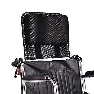 Reposacabezas para silla de ruedas, acolchado ajustable y portátil para adultos, accesorios para silla