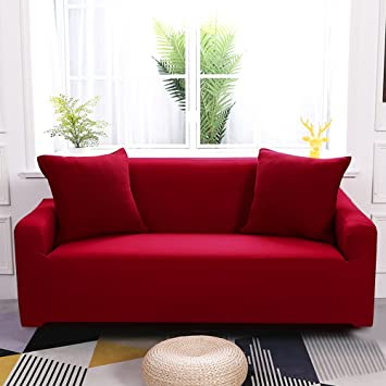 Amazon.com: Boshen Fundas de asiento elásticas para sofá ...