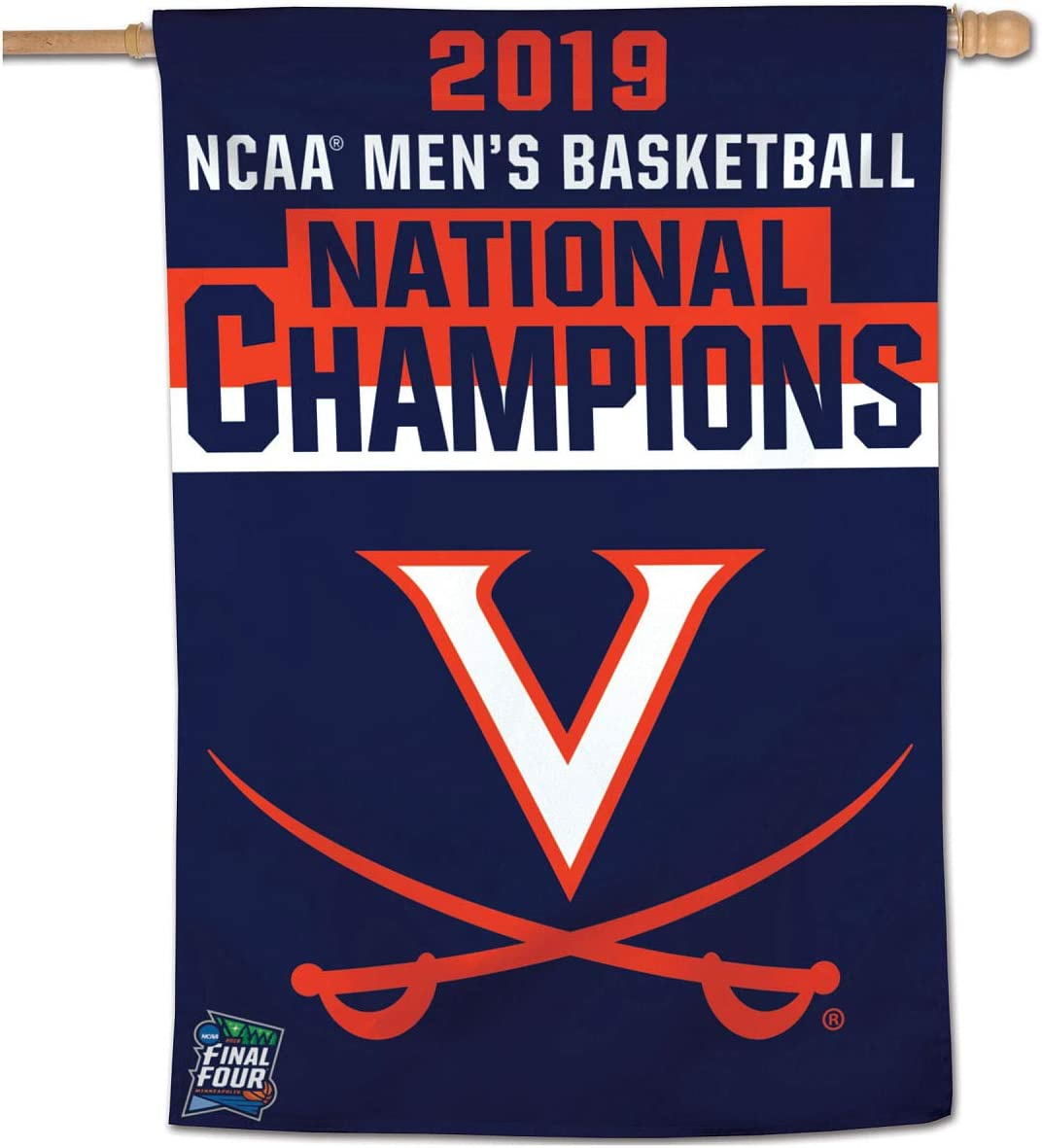 University of Virginia College Basketball 2019 National Champions Banner Flag