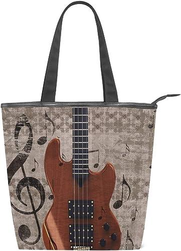 XiangHeFu Bolsos de mujer Instrumento musical Guitarra eléctrica ...