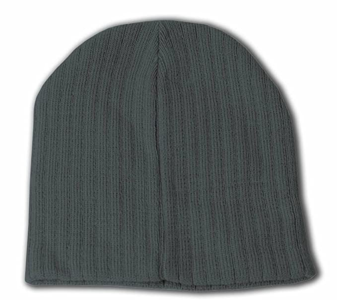 3a8b2a8d702 TOP HEADWEAR Plain Short Cable Beanie
