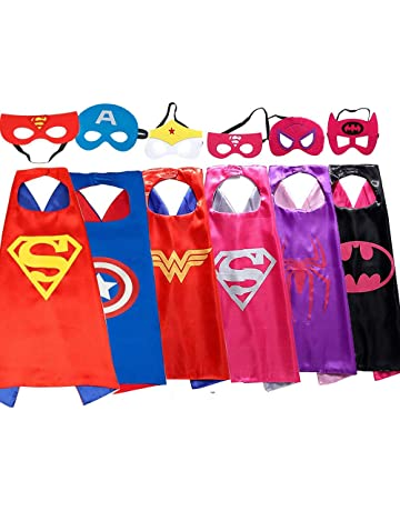 My-My Superhero Cape and Mask for Kids Costume and Dress Up - Best Gifts b0c5dc0c6451
