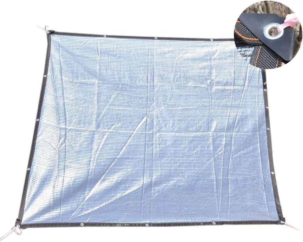 Red Sombreado Tela de Aluminio para Cortinas con arandela, 75% -85% Sunblock Net para pérgola Patio Porche Amplia Gama de usos, Personalizable (Size : 2×6M): Amazon.es: Hogar