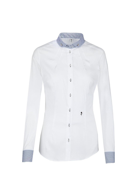 Seidensticker - Damen City-Bluse 1/1-lang, elegante Business-Bluse (60.120804), Größe:44;Farbe:Weiß(1)