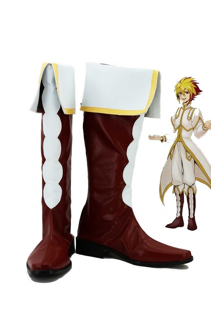 Yu-Gi-Oh! Zexal IV Cosplay Shoes Boots Custom Made by Telacos