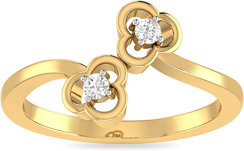PC Jeweller The Avah 22KT Yellow Gold Rings Women's Rings