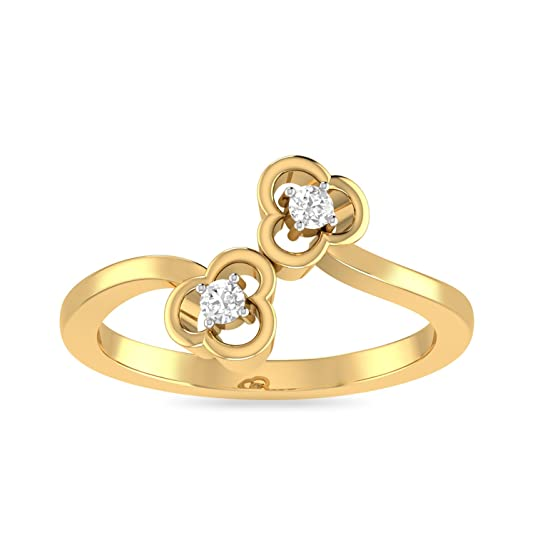 PC Jeweller The Avah 22KT Yellow Gold Rings Rings