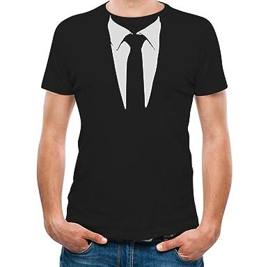 Amazon.com: Printed Suit & Tie Tuxedo Men's T-Shirt: Clothing