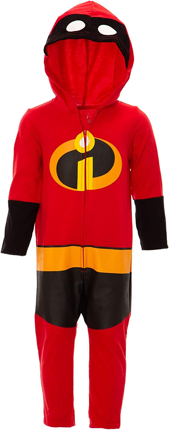 Disney Pixar The Incredibles Baby Boy Girl Costume Coverall Footies
