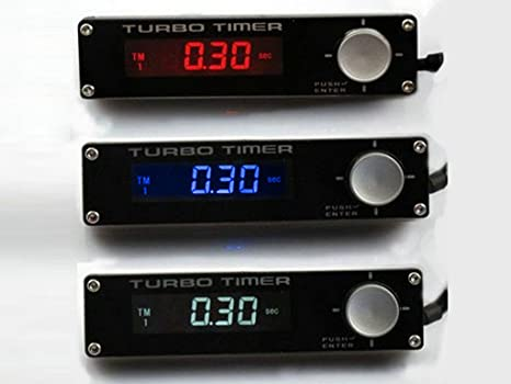 Sunny Car New Turbo Timer Turbo Flameout Decelerator Type 0 Red Digital Display Vehicle