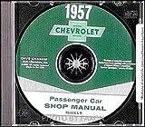 1957 Chevrolet CD Repair Shop Manual Bel Air Nomad 150 210 57 Chevy