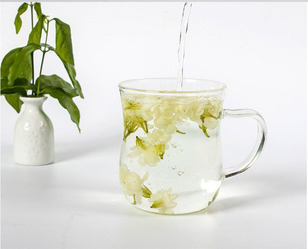 TooGet Fragrant Natural Pure Jasmine Buds Dried Jasmine Flowers Wholesale, Herbal Tea - 2 OZ
