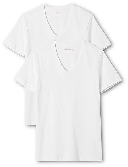 68e49b5fad5bd6 Daniel Hechter Herren Doppelpack T-Shirt (per of 2  Amazon.de ...