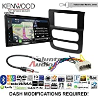 Volunteer Audio Kenwood Excelon DNX694S Double Din Radio Install Kit with GPS Navigation System Android Auto Apple CarPlay Fits 2002-2005 Ram