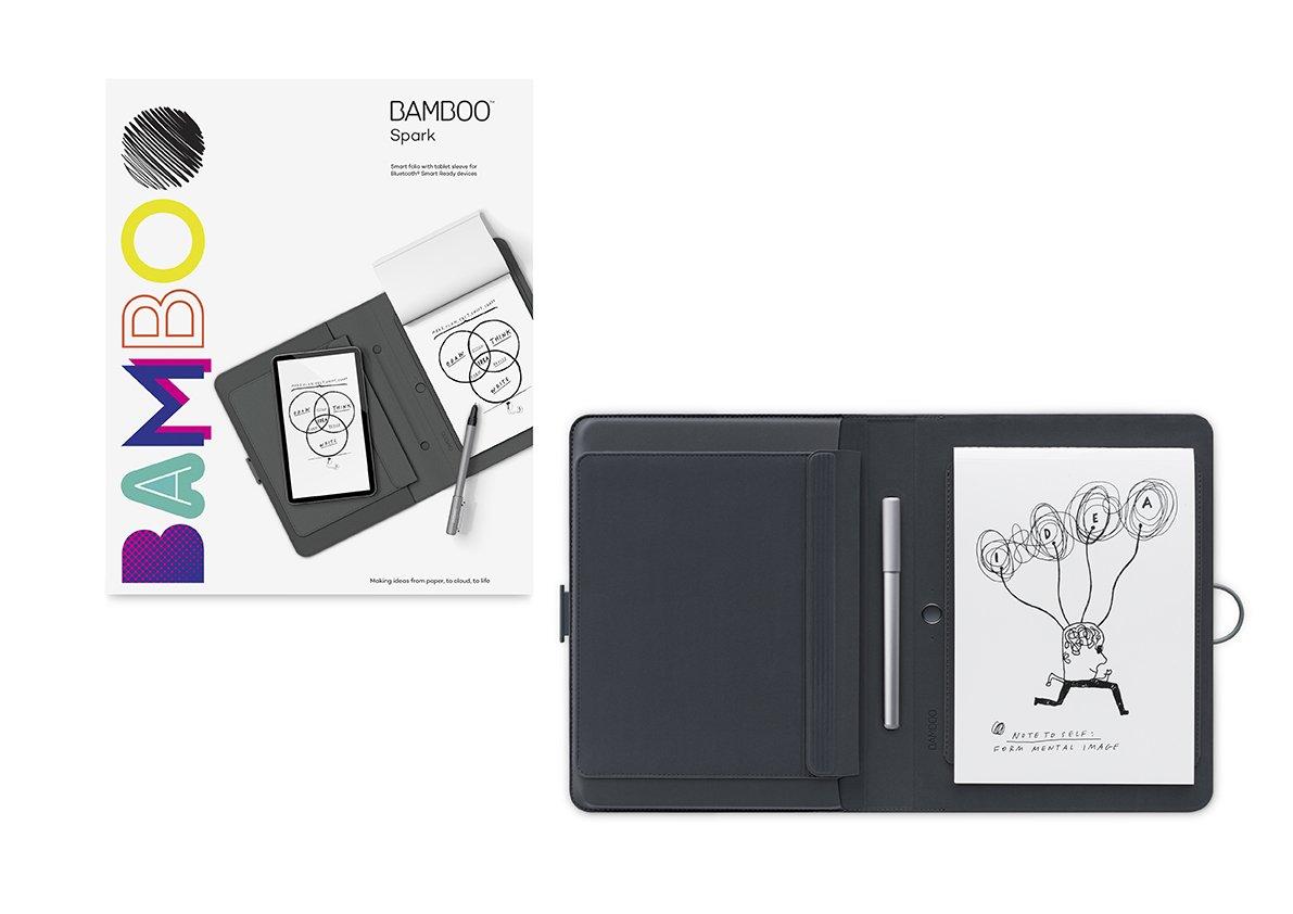 ワコム Bamboo Spark with tablet sleeve CDS600PG B014P0CQMK