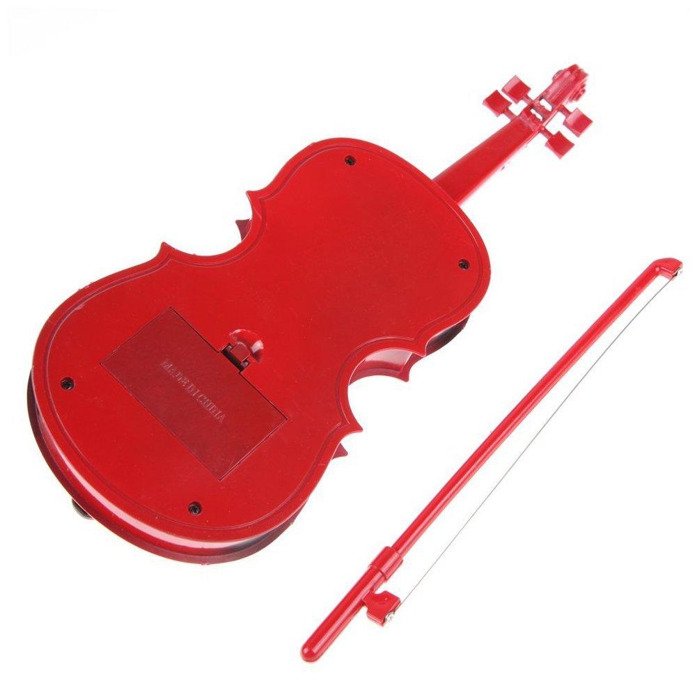 Amazon.com: Violín Toy – SODIAL (R) Rojo Niños Educativo ...