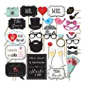 Wedding Photo Booth Props and Photo Booth Sign - Wedding Supplies -Wedding Stuff- Picture Booth Props for Wedding - Wedding Photo Booth Ideas