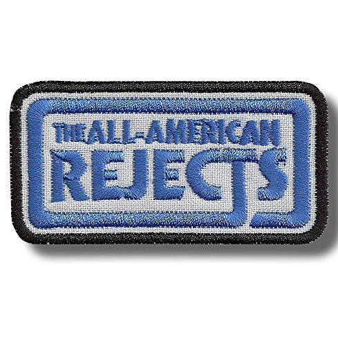 All American Rejects - Embroidered Patch, 8 X 4 cm