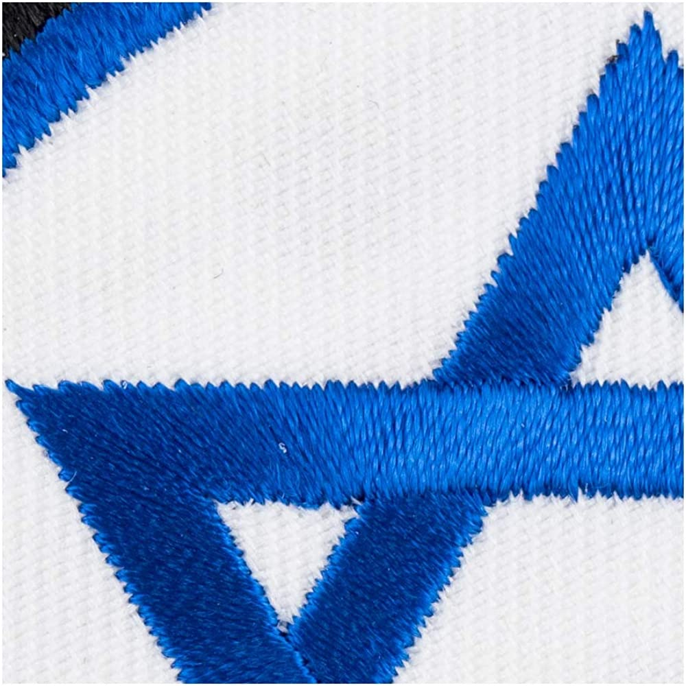 Star of David Israeli Flag Patch Religious Patches
