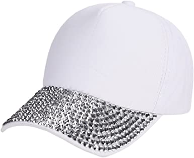 Sombrero de Sol Mujer,decoración Elegante Remache Gorra Moda Gorra ...