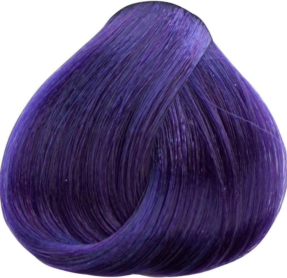 Tahe Lumière Express Tinte de Pelo Profesional Coloración de Cabello Permanente Tinte Rubio Medio Violeta Intenso Tono 7.77 100 ml