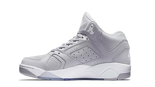 mieux aimé f7acb 2dd31 Chaussures Nike AIR FLIGHT LITE HIGH 318644003 Gris pour ...
