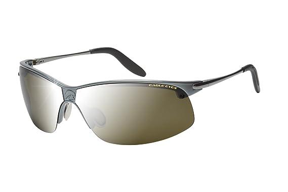 cb83c842c1f7 Eagle Eyes Men s Pro-Master Pano-Vu Sports Wrap Polarized Sunglasses