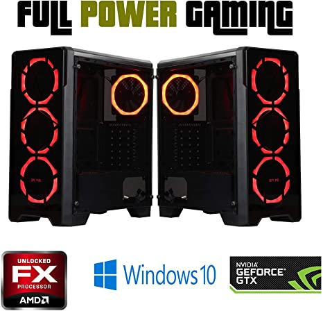Amazon.com: Custom Built Gaming Desktop PC AMD FX 6 core ...