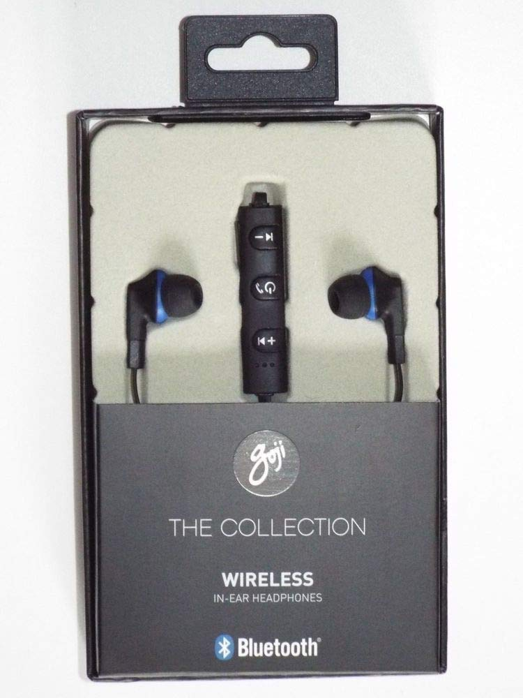 d8b35329ab2 Goji GTCINBT16 Bluetooth in Ear Headphones - Black: Amazon.co.uk:  Electronics