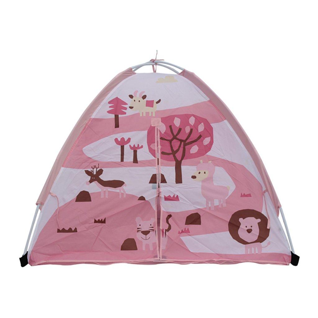 NAUY- Spielzeug & Spiele Kinder spielen Zelt Spiel Playhouse Kinder Spielzeug Spiel Haus Portable Großes Indoor und Outdoor Kinderzelt (120 * 120 * 95cm)