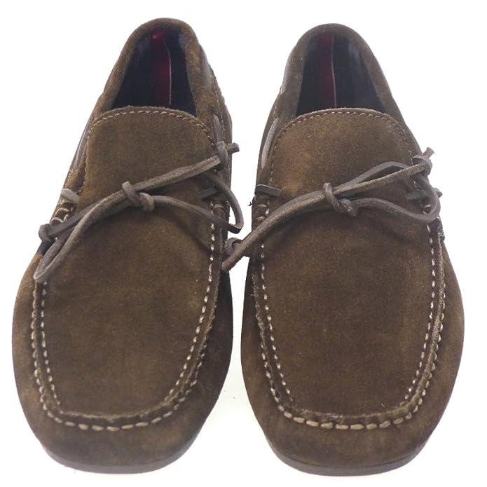 Tommy Hilfiger Zapatos Hombre Mocasines Naúticos Carl4b Marron: Amazon.es: Zapatos y complementos