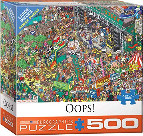 Used, EuroGraphics Oops! by Martin Berry 500- Piece Puzzle for sale  Delivered anywhere in USA