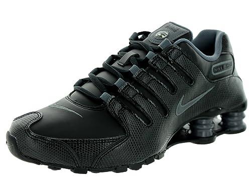 quality design 9c4c0 7e35c Nike Shox NZ EU - Negro Gris-Lobo Gris Oscuro, 5 B con Nosotros  Amazon.es   Zapatos y complementos