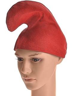 e08dea82967 RED GNOME HAT   WHITE BEARD  Amazon.co.uk  Toys   Games