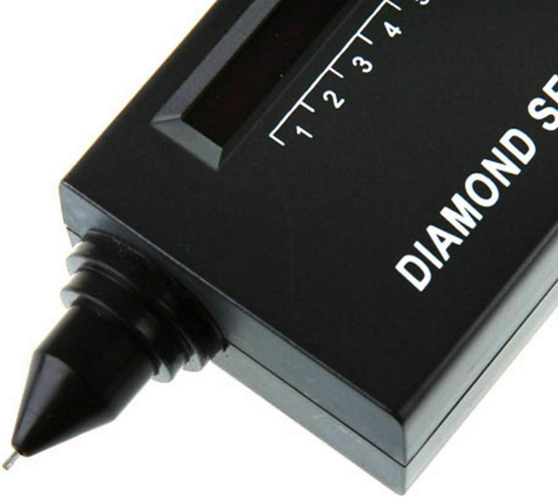 Jeweler Diamond Tool kit with Portable Diamond Tester 60X Illuminated Loupe