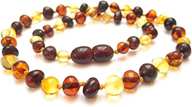 collier perle ambre