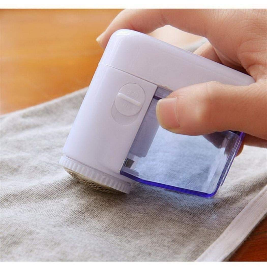 Pinsparkle Portable Electric Lint Fabric Remover Sweater Clothes Shaver Trimmer Lint Removers
