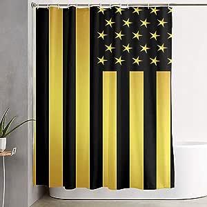 Cortinas De Ducha Bandera Americana Cortinas De Baño ...