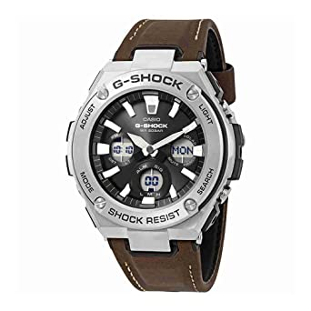 2955968a2e8e Image Unavailable. Image not available for. Color  Casio G-Shock Steel Black  ...