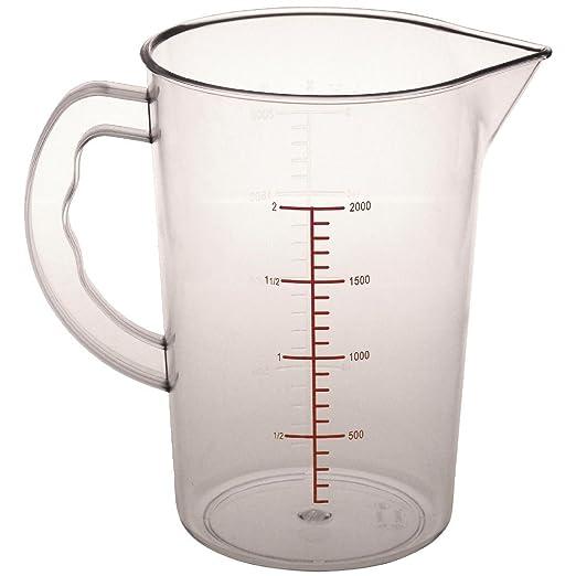 Vogue cg972 policarbonato jarra medidora, 2 L: Amazon.es ...