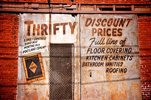 Thrifty Photo (Construction Ad, Retro Advertising Art, Thrifty Building)